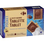 Biscuits tablette chocolat au lait
