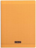 CAHIER PIQ POLYPRO A4 192P ORANGE